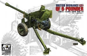 AF35217 QF 6 Pdr Mk.4 British Anti-tank Gun Late
